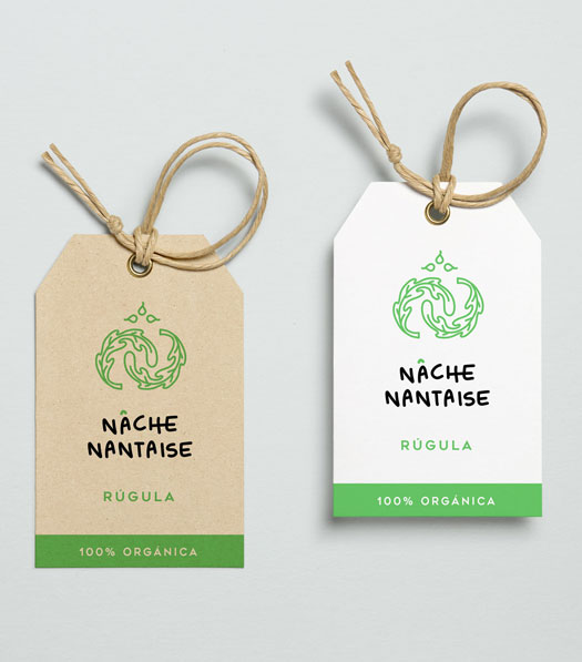 Nâche Nantaise tag design